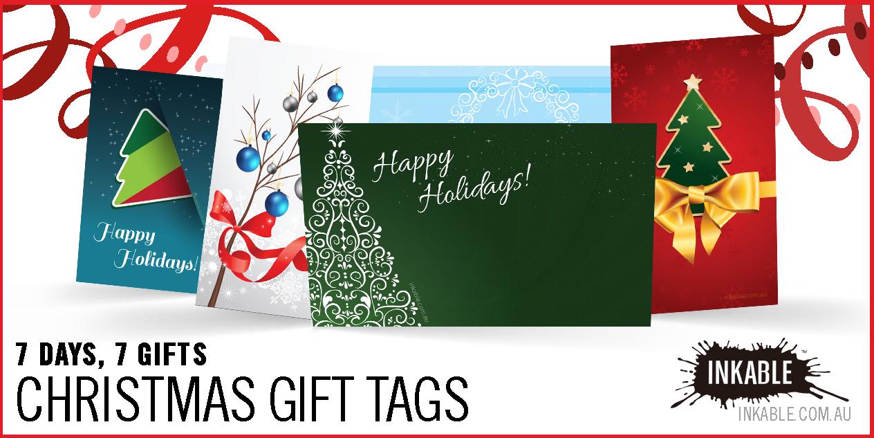 A Week Of Gift Giving 3 Free Printable Christmas Gift Tags