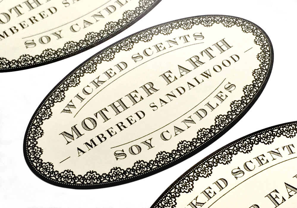 custom paper labels